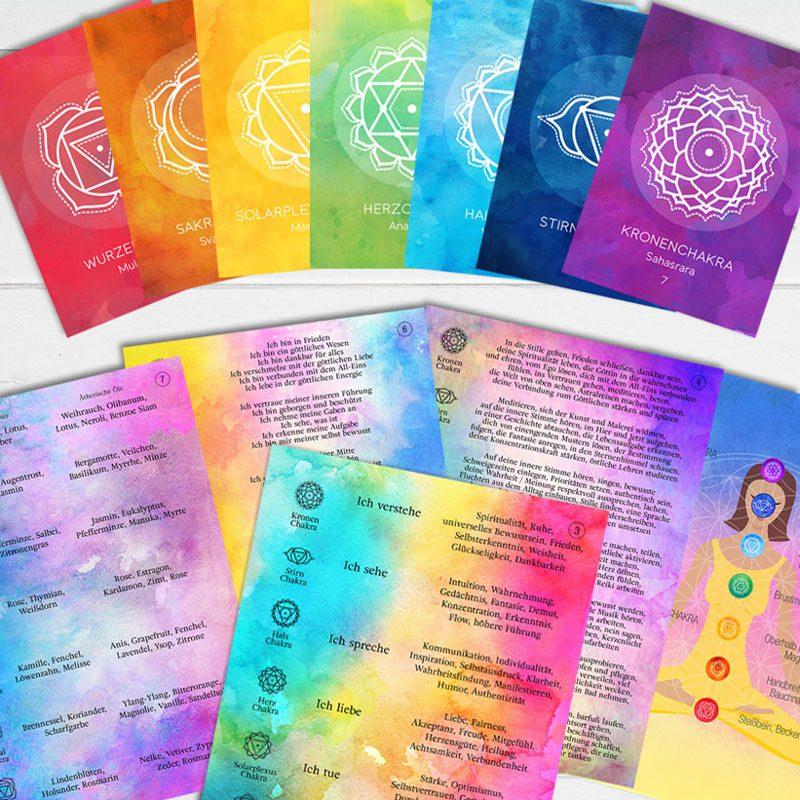 Chakra Kraft Karten Set