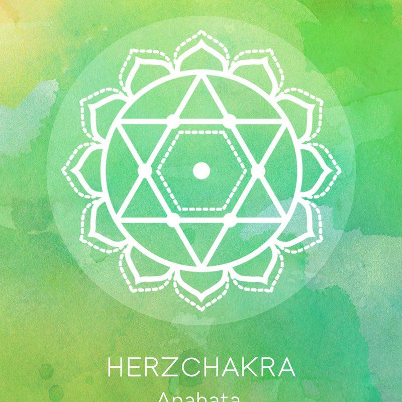 Chakra Kraft Karten Set Herzchakra