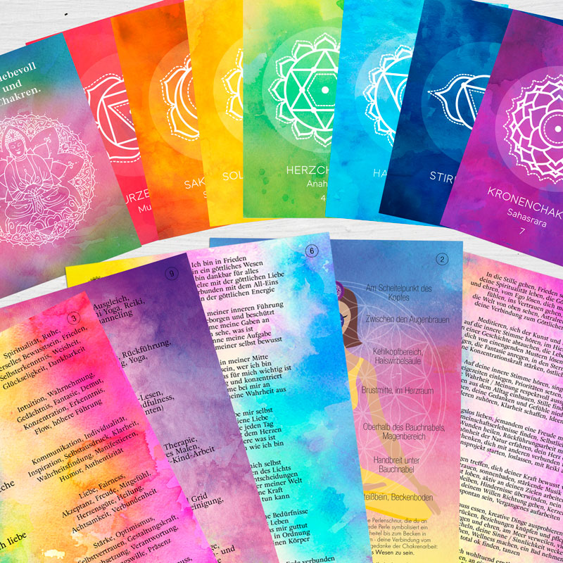 Chakra Kraft Karten