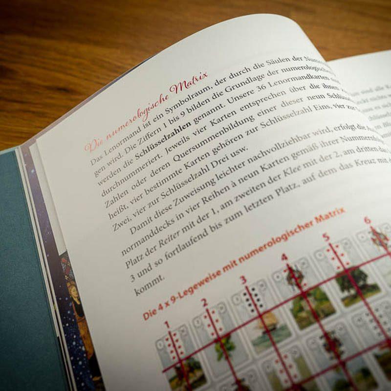 Die fabelhafte Welt des Lenormand Buch Lehrbuch