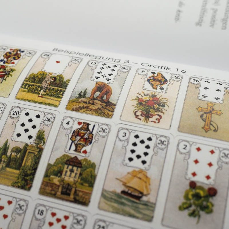 Lenormandkarten Lehrgang Band 3 Lenormand lernen Große Tafel Kartenlegen