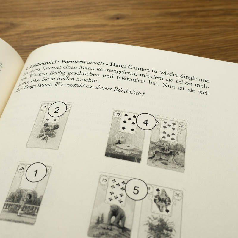 Lenormandkarten Lehrgang Band 2 Lenormand lernen Kombinationen Kartenlegen