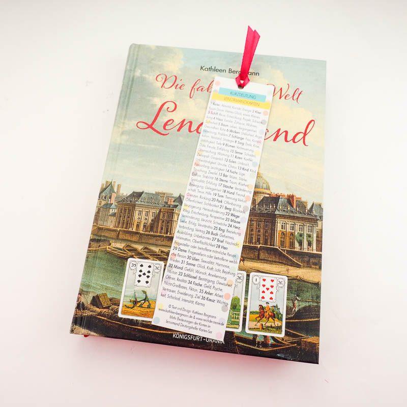 Fabelhafte Welt des Lemormand mit Lesezeichen