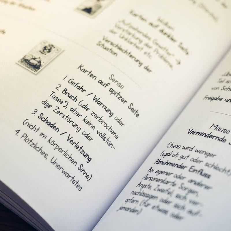Lenormandkarten Lehrgang Band 1 Lenormand lernen Anleitung Anfänger Kartenlegen