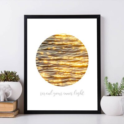 Fine Art Poster Kunstdruck Print spiritual message inspirational quotes affirmation