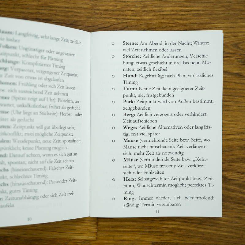 Lichtblick Lenormand Zusatzkarten Booklet