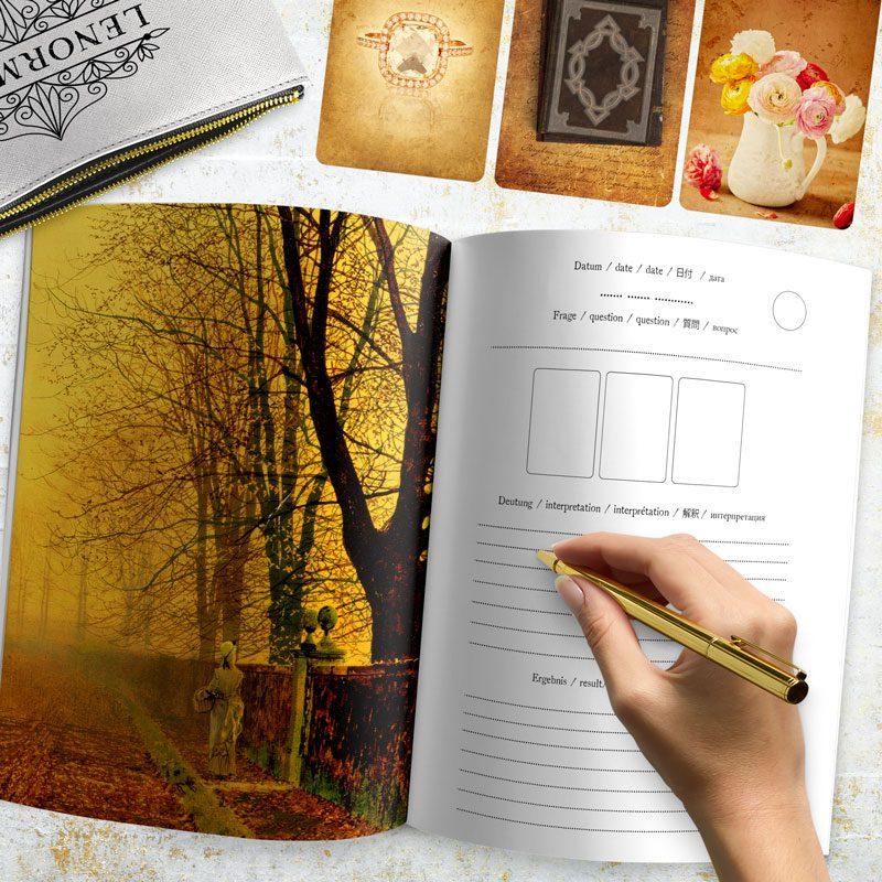 Lenormand Journal - Notizbuch für Legungen