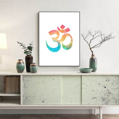 OM Symbol Fine Art Poster