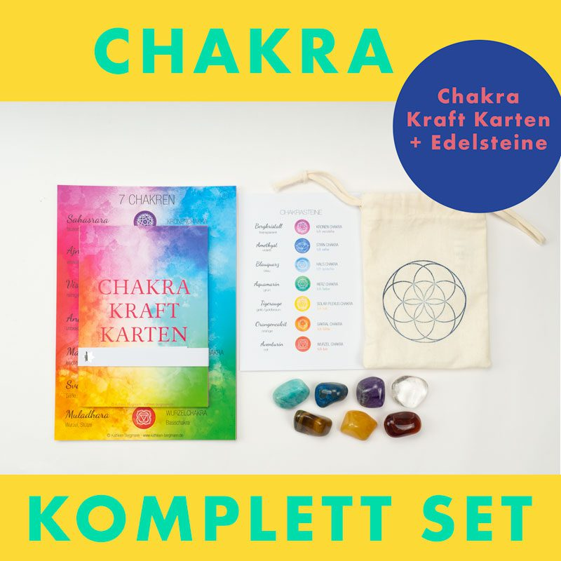 Chakra Komplett Set