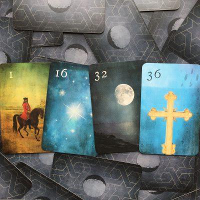 Mondnacht Lenormand Kartendeck