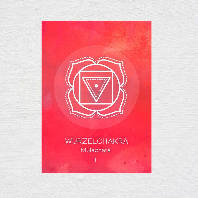 7 Chakra Karten - Wurzelchakra