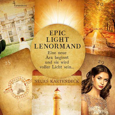 Epic Light Lenormand Kartendeck