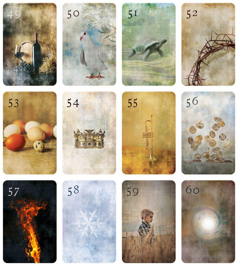 Mondnacht Lenormand Zusatzkarten von Patrick Scheller