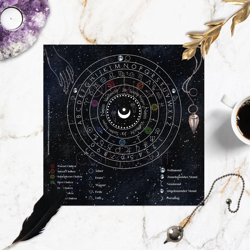 Pendel Divinationskarte