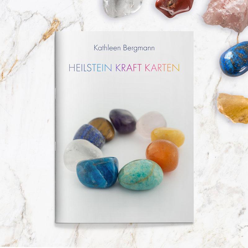 Heilstein Kraft Karten Set Booklet